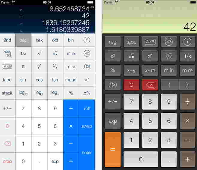 PCalc Best apps for iPhone 6 and iPhone 6 plus
