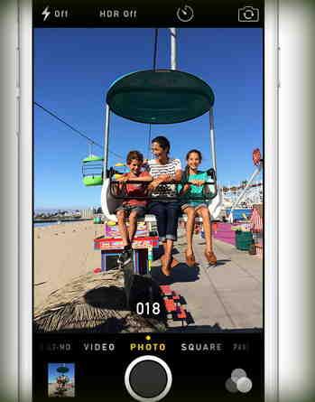 Фото на вашем iPhone 6 или iPhone 6 Plus