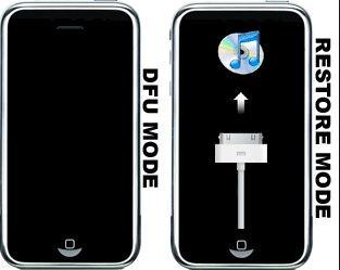 Put iPhone in DFU mode - iPad