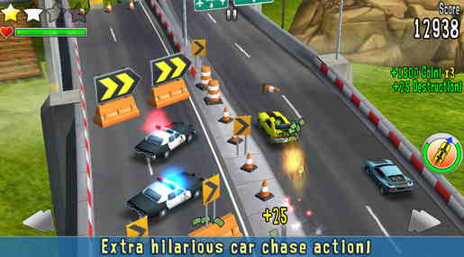 Reckless Getaway  Best Racing Game for iPhone