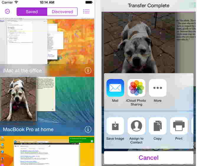 Screens VNC Best apps for iPhone 6 and iPhone 6 plus