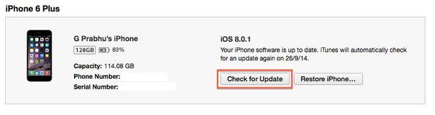 Solve No Service and Touch ID in iOS 8.0.1 - iOS 8