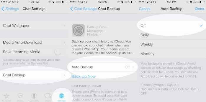 WhatsApp crash on iOS 8