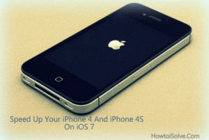 How to speed up iPhone 4 and iPhone 4s on iOS 7 [Tips]