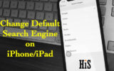 Change Default Search Engine on iPhone and iPad