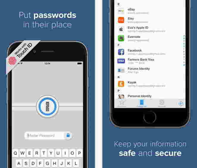 1 Password - supporting today widget in yosemite