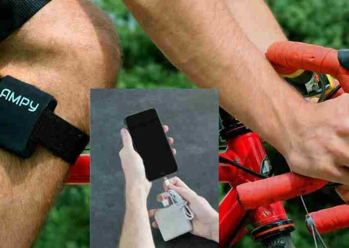 Charge your iPhone and iPad using body motion