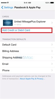 From here you can save more then one card details.