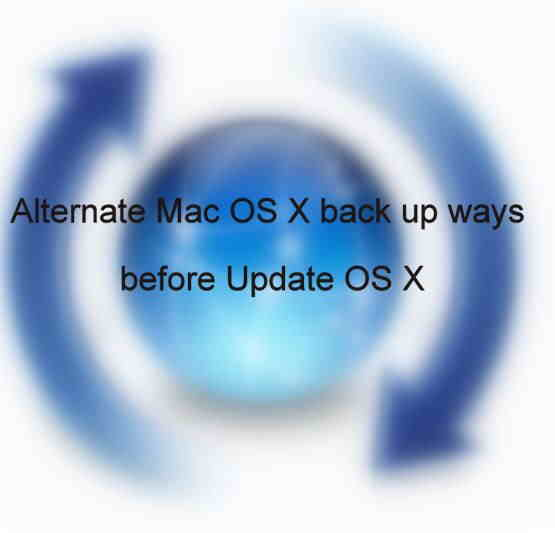 Mac OS X Up date on Mac - Alternate Mac OS X back up ways