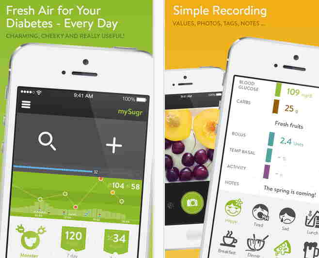 Diabetes Companion app for iPhone and ipad - Diabetes apps for iOS 8