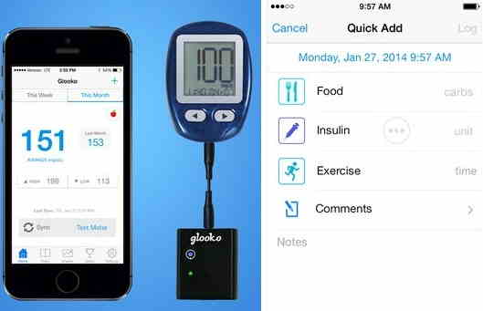 Glooko added in top best diabetes apps