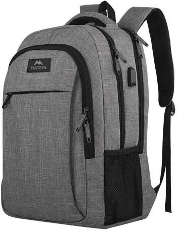 Matein Backpack for Laptop, iPad, Tablet