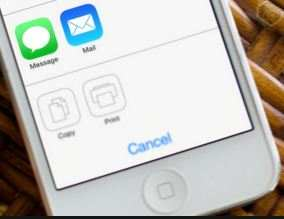 Take print from iPhone and iPad on iOS 8 [without apps]