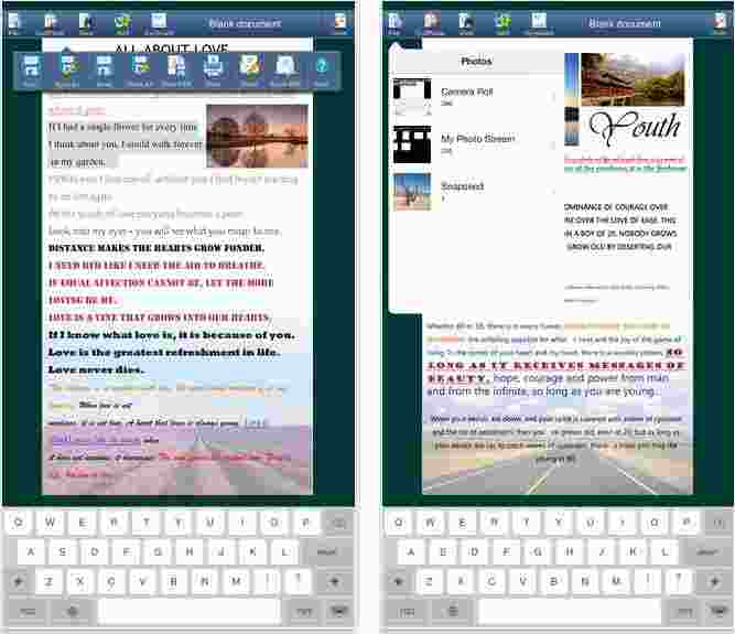 For iPhone and iPad best office file editor