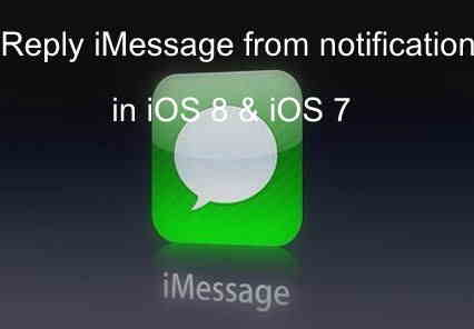 Here easiest way of Reply iMessage in iPhone