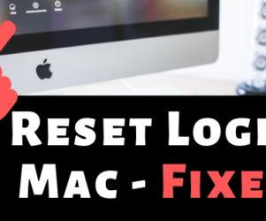Reset Login Password on Mac after Forgot without Erase Mac