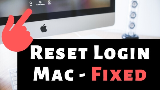 Reset Login Password on Mac after Forgot without Erase Mac