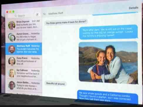 Send Audio message in iMessage OS X Yosemite