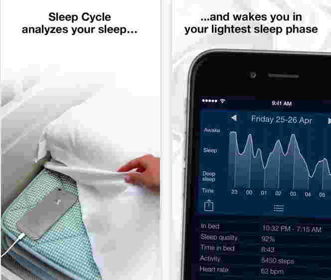 Sleep Cycle: iOS Alarm clock