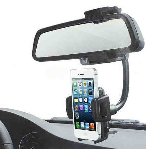 Universal Car Rearview in #1 car mount
