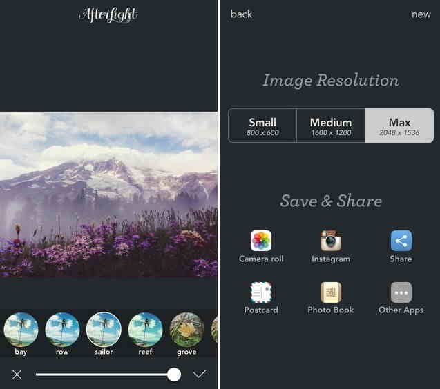 many kinds of Photo editing tools in this app best for iOS 8 for iPhone and iPad