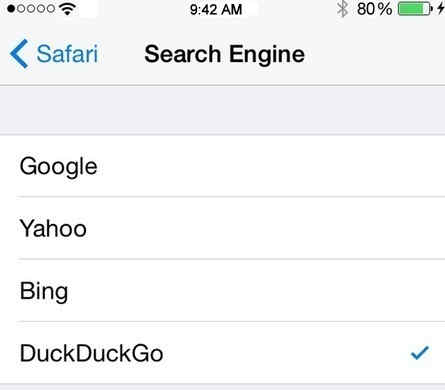 From this iPhone's safari browser