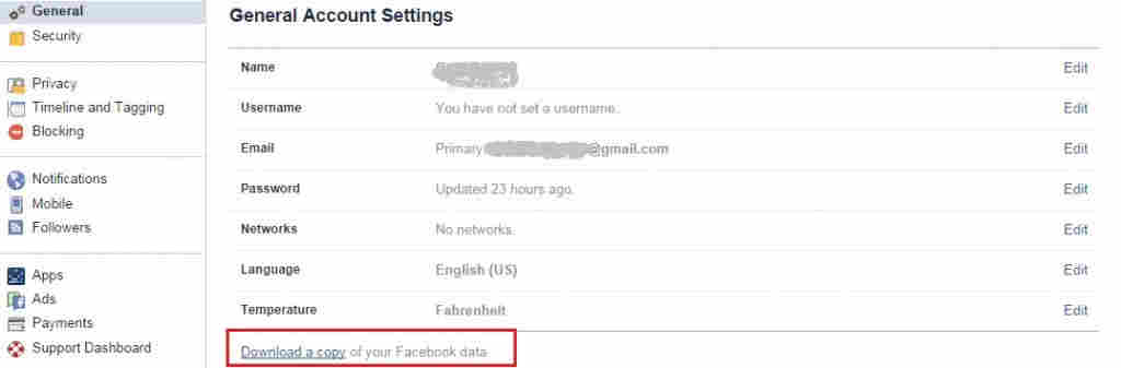 Files to Recover Deleted Facebook Message in iPhone and iPad
