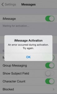 "iMessage ""Waiting for Activation"" Error on iPhone [Get How to Fix]"