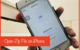 9 Extract and Open Zip file on iPhone