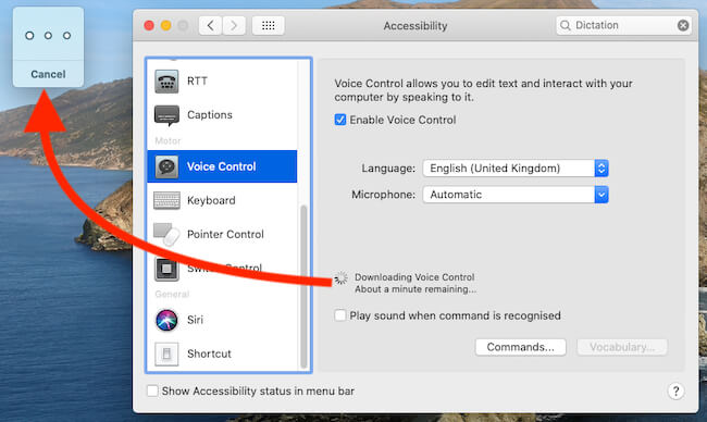Downloading Siri Voice on Mac for Voice control