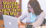 Manage Startup Login items on Mac remove or add login items on MacBook