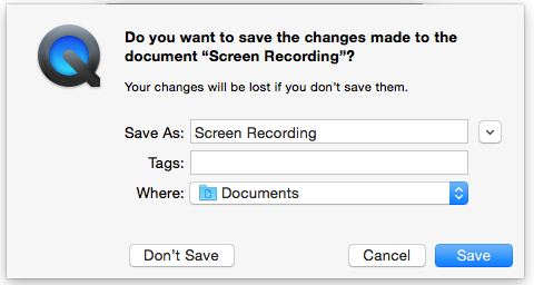 Save your recorded video in hard disk with Name