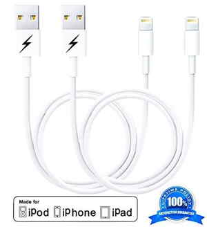 USB cable for iPhone and iPad in different length and color