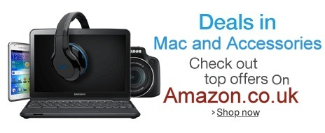 Deals of the Mac and accessories deals on amazon UK