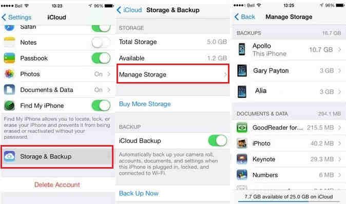 delete iphone backup tips to delete iphone backups from icloud how to 7892
