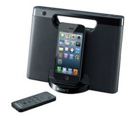 Sony iPhone, iPad speaker dock 2015