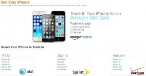 Amazon online trading program for iPhone and ipad sell