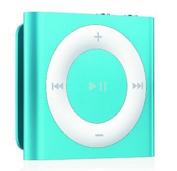 blue color iPod shuffle on deals price