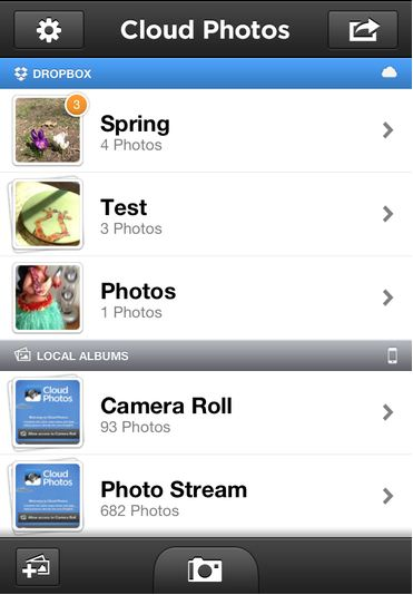 Cloud photo apps for Save Photo directly to Cloud from iPhone