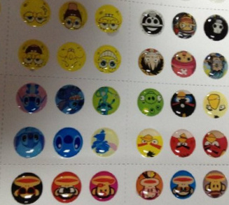 300 Stickers for iPhone and iPad Home button