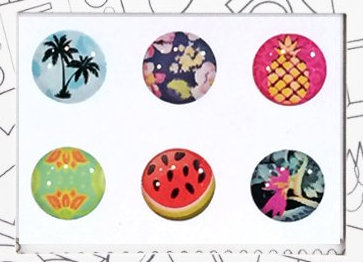 iPad iPhone Home button Stickers