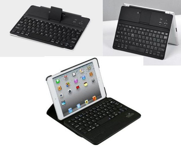 E thinker iPad keyboard dock with Stand and Case