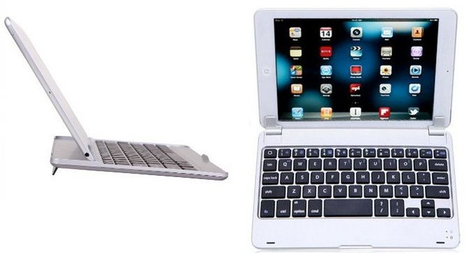 HDE case keyboard stand for iPad air and iPad mini