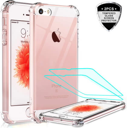 High-quality iPhone SE Clear Case