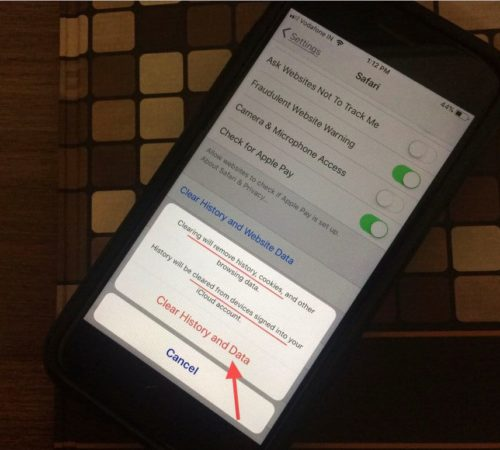 How to erase Clear History Cache on Safari on iPhone, iPad iOS devices