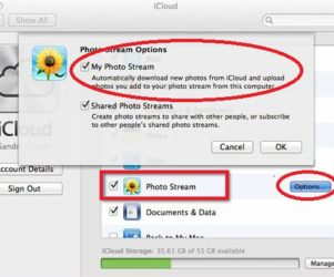 Photo Stream Enable for Mac System preference