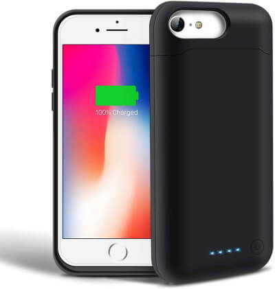 SHENMZ Portable Charging Extended Case for iPhone 6