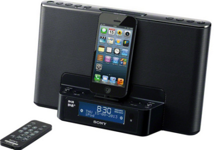 iPod touch remote Speaker Dock