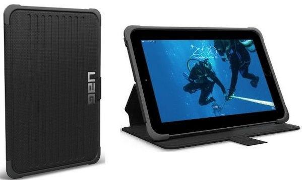 Black designed Urban iPad cases for iPad mini 3, iPad mini 2