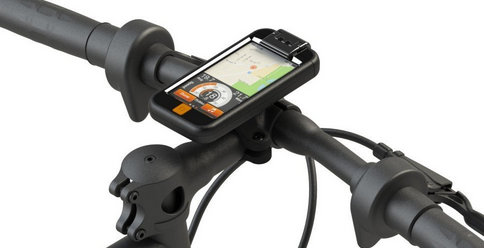 bike mount for iPod touch with black color